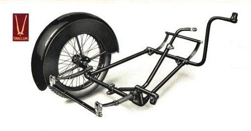 Swallow Sidecar шасси 3