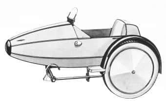 Рисунок Swallow Sidecar model I
