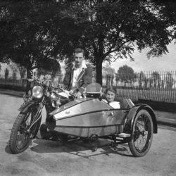 Swallow Sidecar model I фото под старину