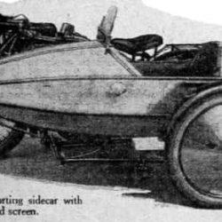 Газетная вырезка Swallow Sidecar model I