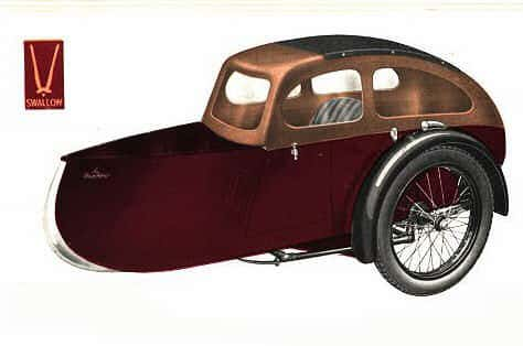 Swallow Sidecar model 12 Sun Saloon