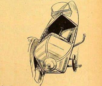 Swallow Sidecar model 2 вырезка из газеты