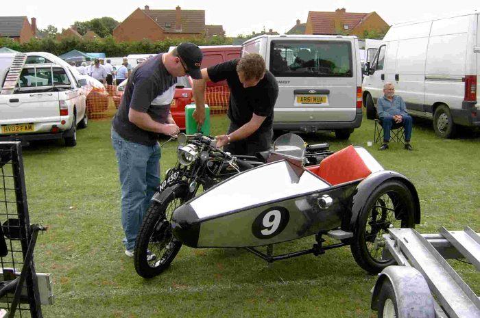 Swallow Sidecar model 2 Light Weight De-Luxe