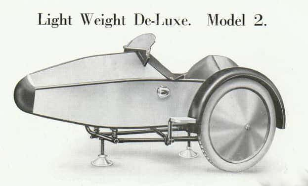 Swallow Sidecar model 2 Light Weight De-Luxe