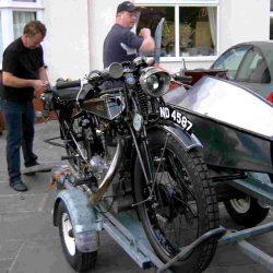 Swallow Sidecar model 2 перед перевозкой
