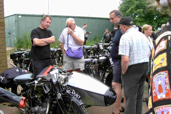 Swallow Sidecar model 2 Light Weight De-Luxe на выставке