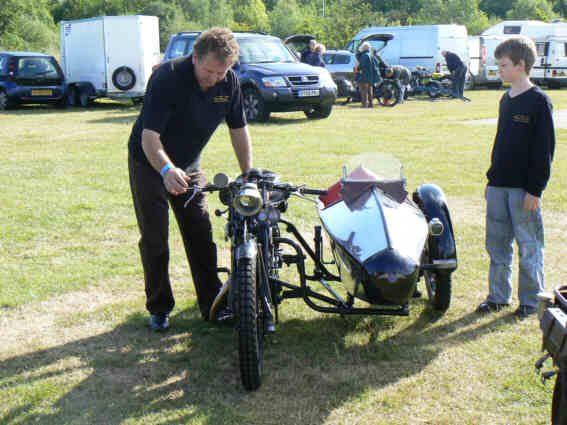 Swallow Sidecar model 2 спереди