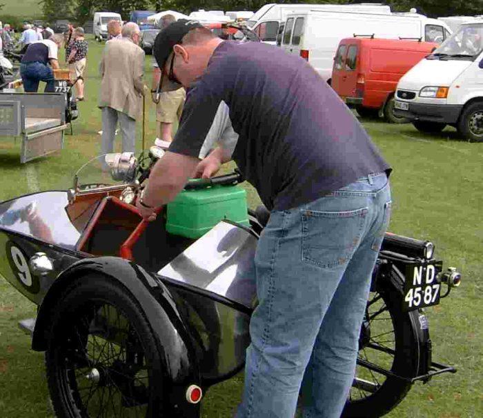 Swallow Sidecar model 2 сзади