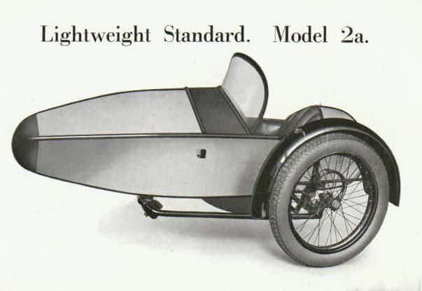 Swallow Sidecar model 2a Lightweight Standard