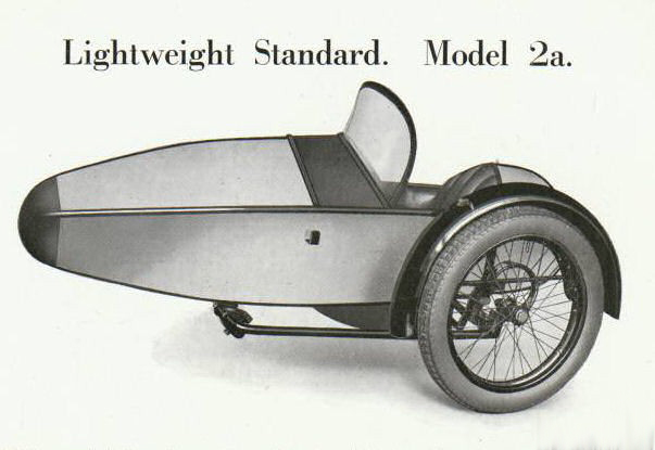 Swallow Sidecar model 2a Lighweight Standard