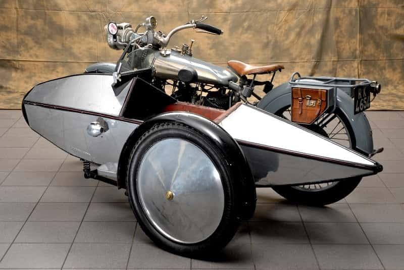 Старая модель коляски Swallow Sidecar 4