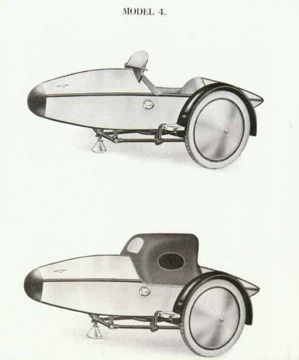 Описание Swallow Sidecar model 4 Super Sports De-Luxe