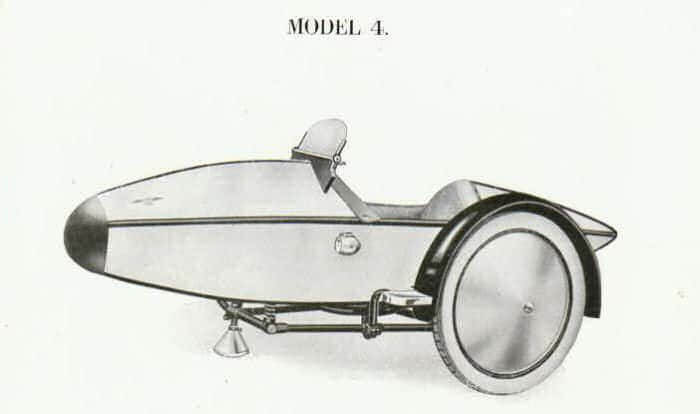 Swallow Sidecar model 4 Super Sports De-Luxe