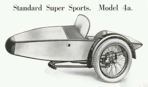 Swallow Sidecar model 4a Standard Super Sports