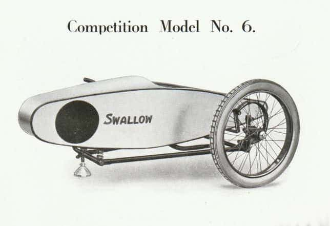 Swallow Sidecar model 6 Competition