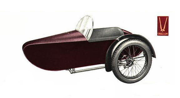 Swallow Sidecar model 7 Semi-Sports Fabric