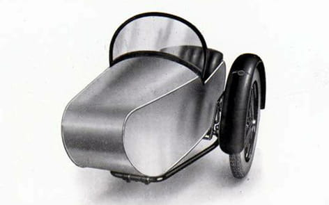 Swallow Sidecar model 7 Semi-Sports