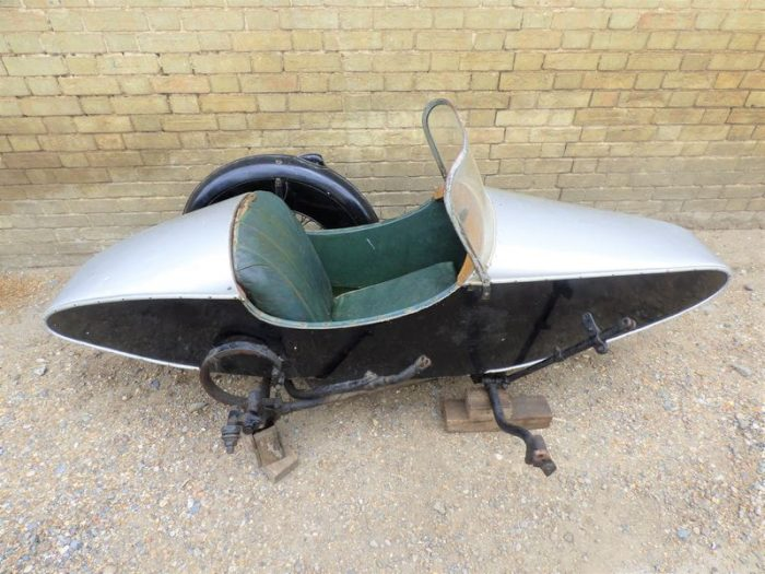 Swallow Sidecar модель 7a Syston Sports