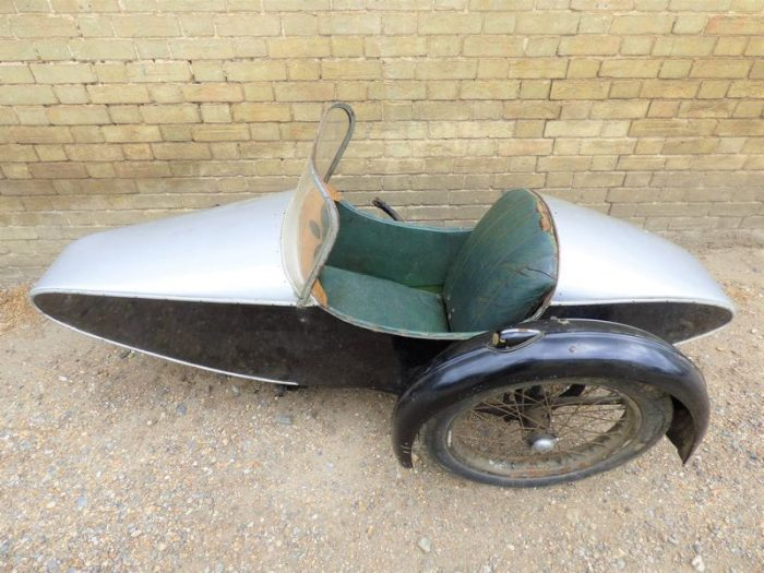 Коляска Swallow Sidecar model 7a Syston Sports