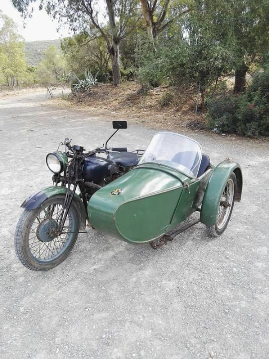 Swallow Sidecar model 8 Sports Touring Coupe de Luxe