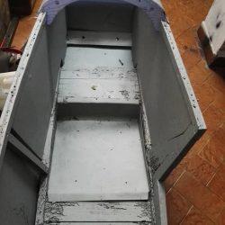 Swallow Sidecar model 8 задняя часть