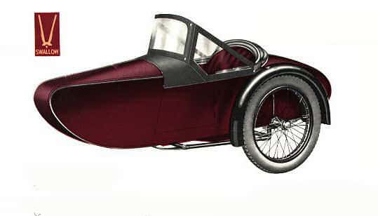 Swallow Sidecar model 8a Hurlingham Adult Two-Seater