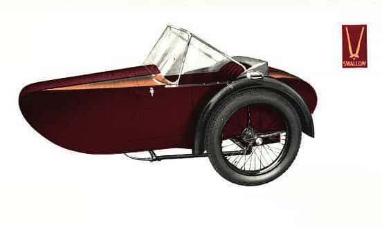 Swallow Sidecar model 9a Courer de Luxe