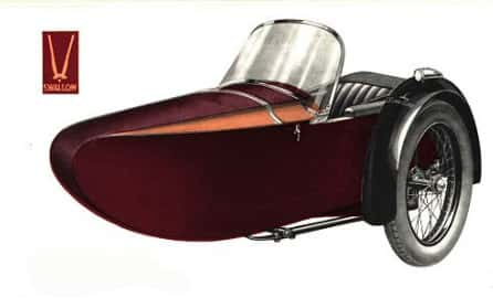 Swallow Sidecar model 9d De Luxe Touring Model