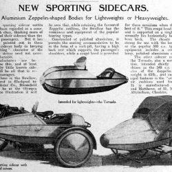 Swallow Sidecar model II Lightweight статья в газете
