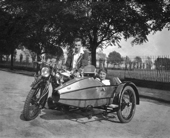 Swallow Sidecar model II фото под старину