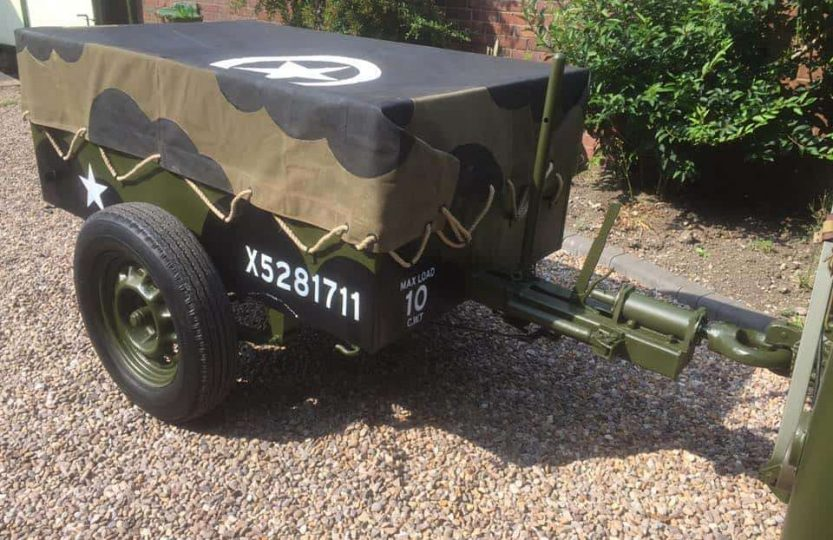Trailer No 1 Mk 1 (Mark 1), 10 cwt 2 Wheel Lightweight General Service
