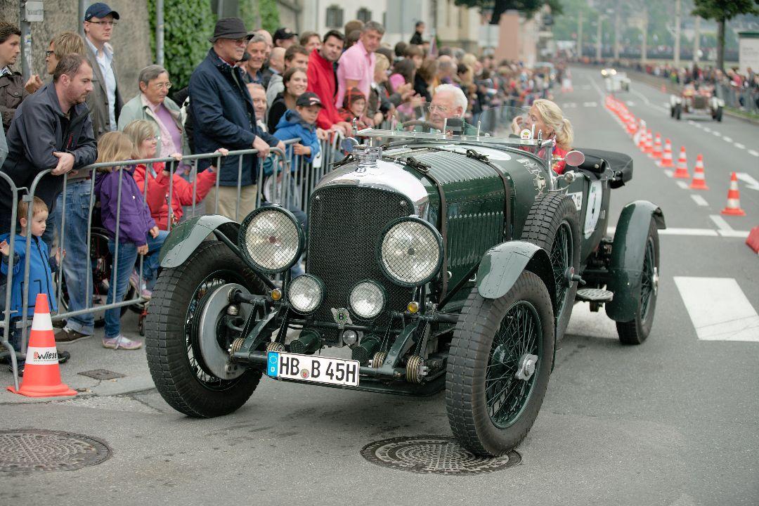 Bentley 4,5 liter Open Tourer