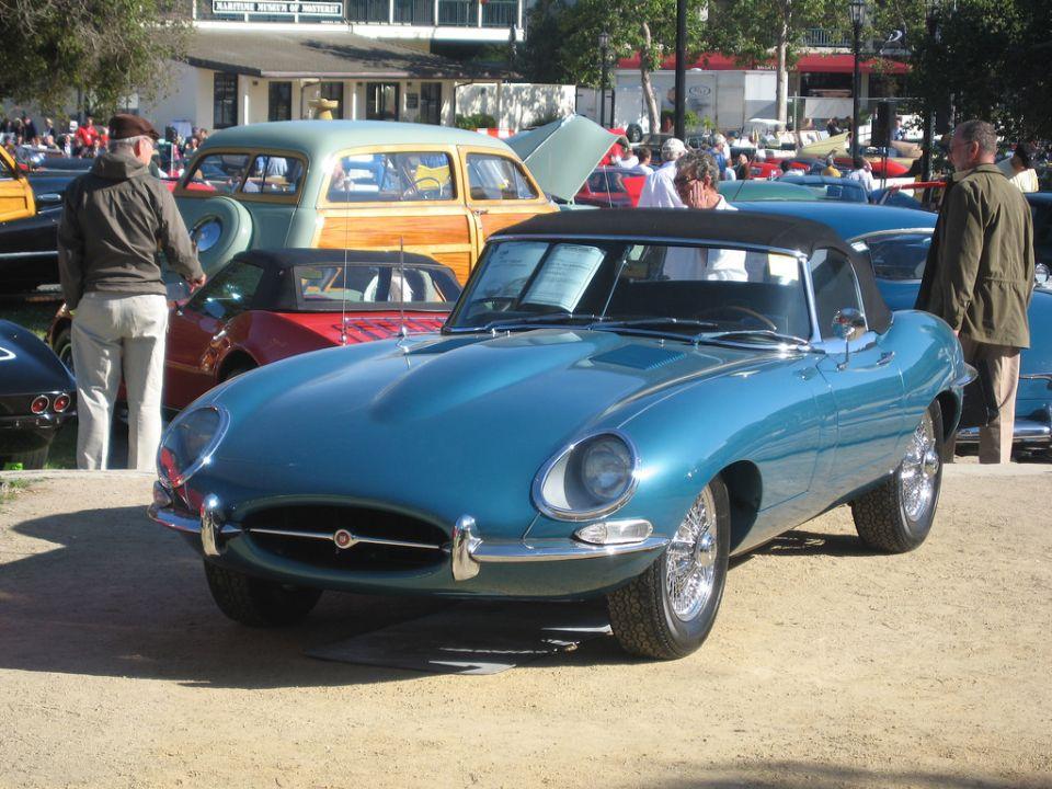 Великолепный Jaguar E-Type. Первая серия
