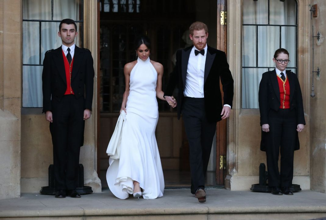 Свадьба Harry и Megan
