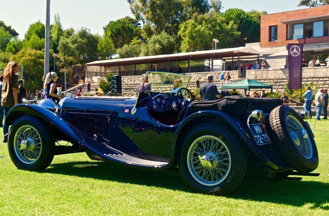 Спорткар Jaguar SS 100