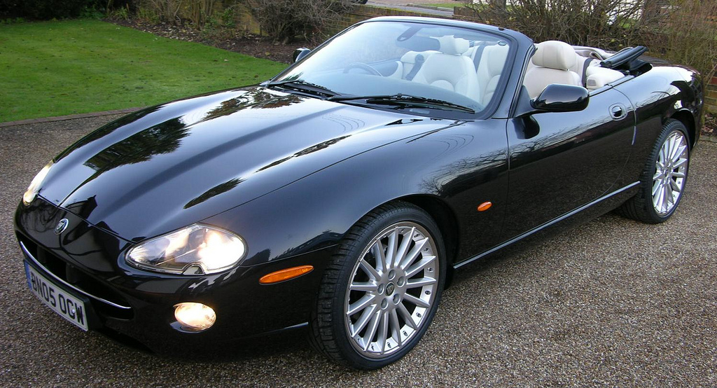 Jaguar XK8 кабриолет