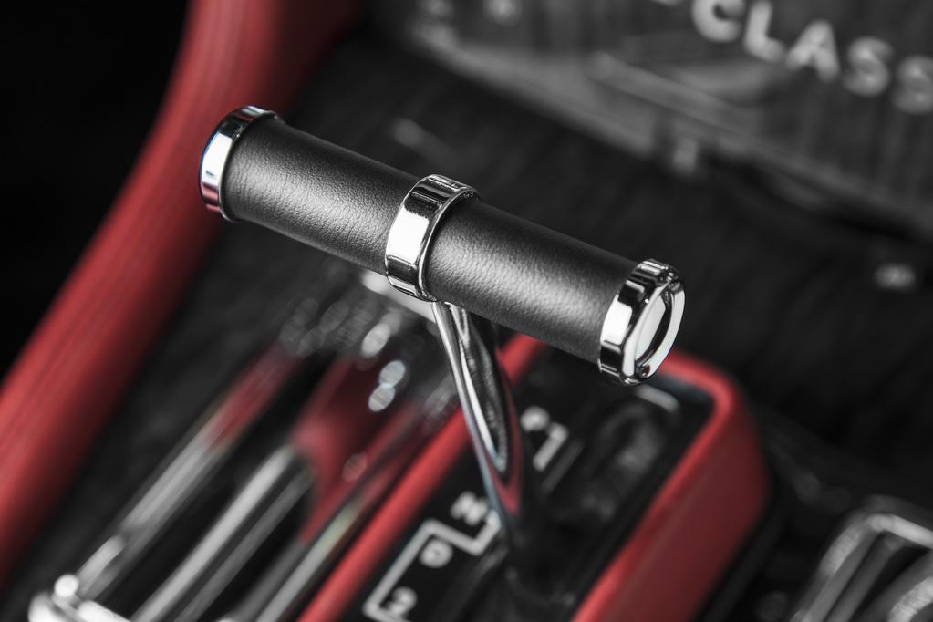 Jaguar XJ6 переключение скорости