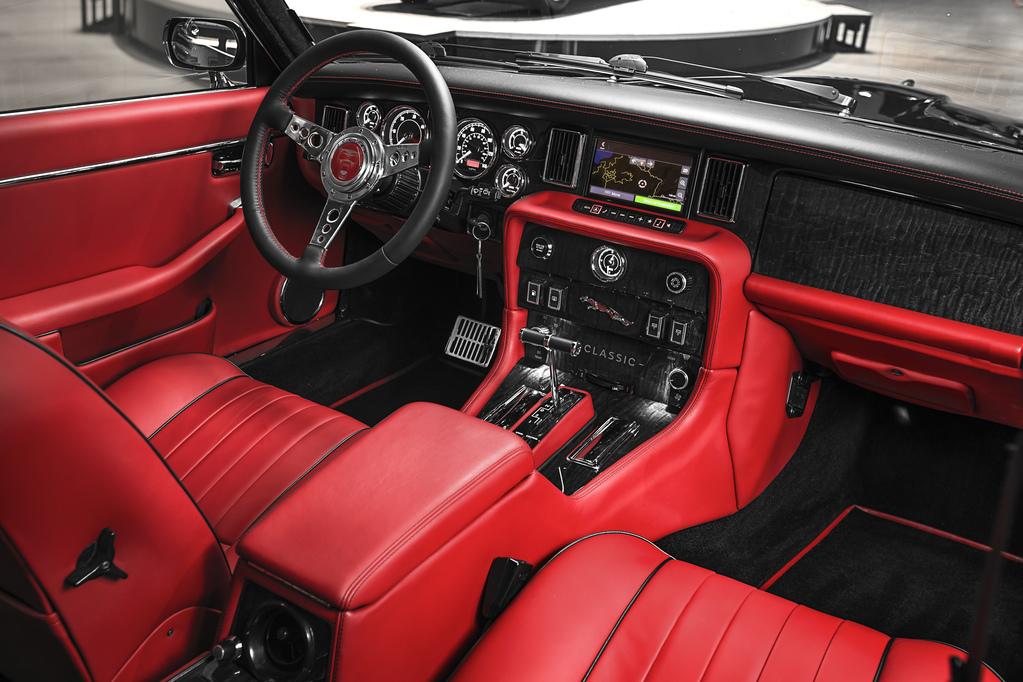 Jaguar XJ6 интерьер