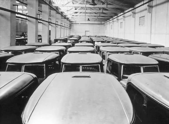 Austin 7 Swallow в Coventry 1929 год