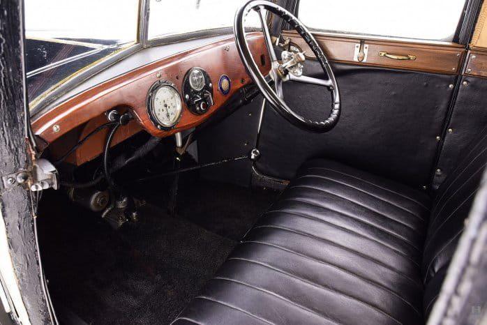 Austin 7 Swallow Saloon deck