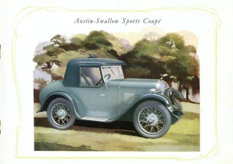 Austin 7 Swallow Sports Coupe