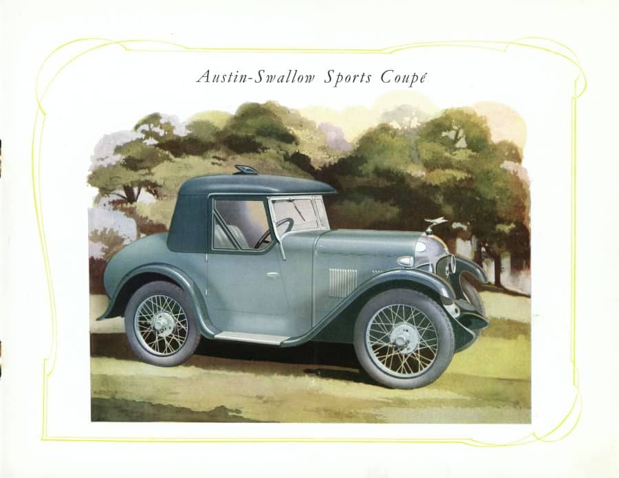 Austin 7 Swallow Sports Coupe