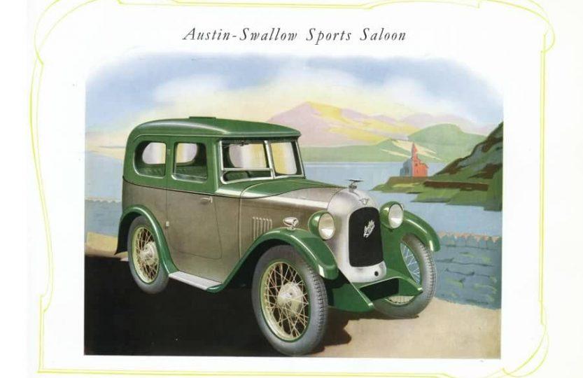 Austin 7 Swallow Sports Saloon