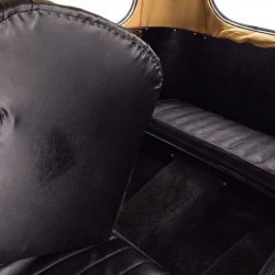 Austin 7 Swallow Sports Saloon backseat