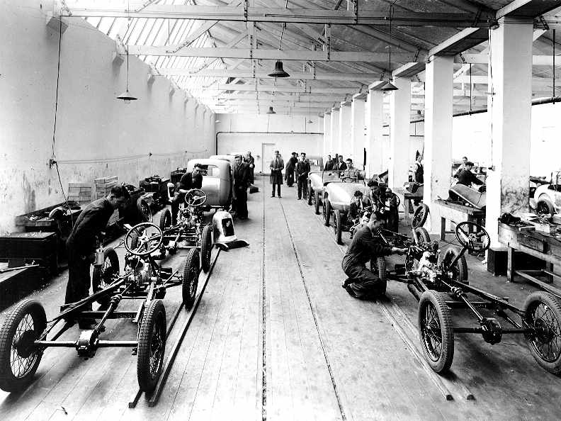 Austin Seven Swallow Chassis