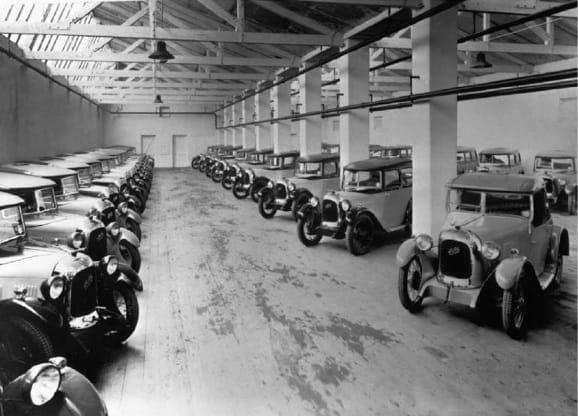 Austin Seven Swallow в Coventry 1929 год