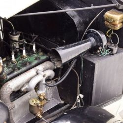 Austin Seven Swallow Sports Saloon engine