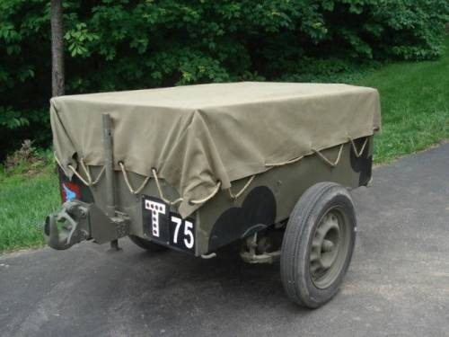 British Airborne Trailer No 1 Mk 2