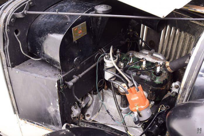Двигатель Austin 7 Swallow Sports Saloon