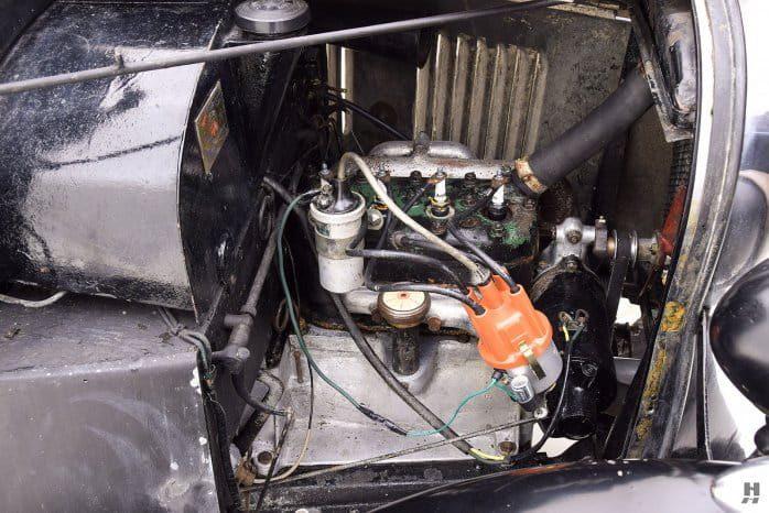 Двигатель Austin Swallow Sports Saloon